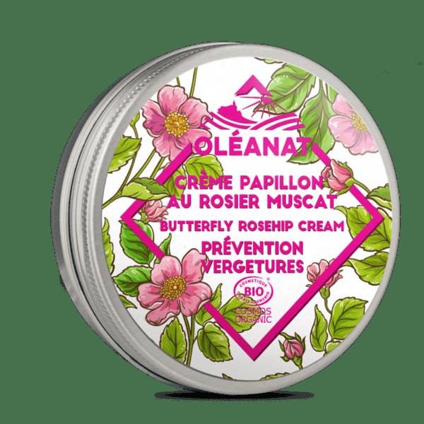 Crème bio prévention vergetures Oléanat